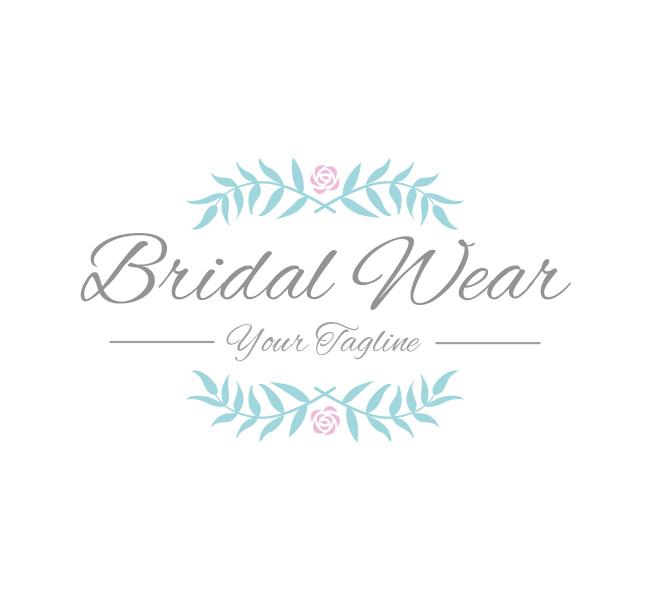Bridal-Wear-Logo-Template