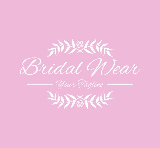 Pre-Designed-Logo-Bridal-Wear-White