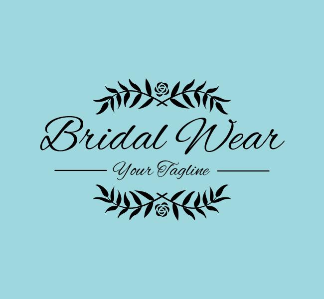 Ready-made-Logo-Bridal-Wear-Black