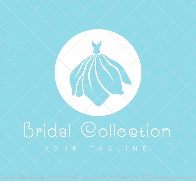 Pre-Designed-Logo-Bridal-Dress-White