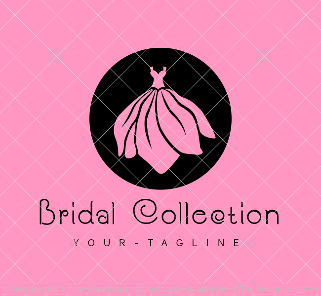 Ready-made-Logo-Bridal-Dress-Black