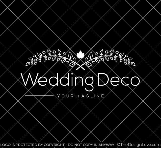 Pre-Designed-Wedding-Flower-Deco-Circle-White
