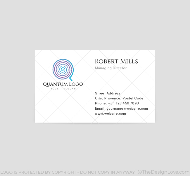 Quantum-Business-Card-Template-Front