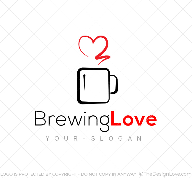 Brewing-Love-Logo-Template