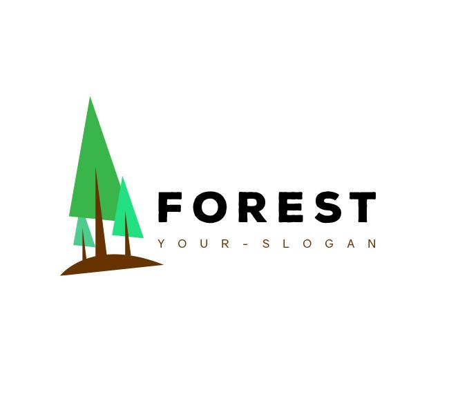 Forest-Resort-Logo-Template