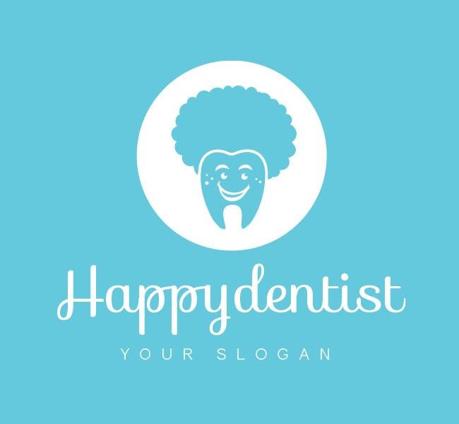 Pre-Designed-Logo-Dental-Clinic-White
