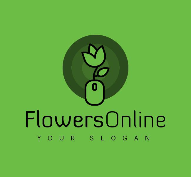 Flowers-Online-Logo-Red-Circle-Black