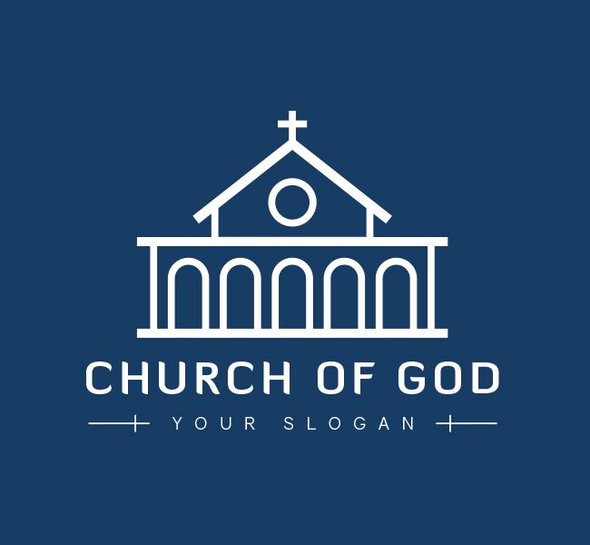 church of god logo  u0026 business card template