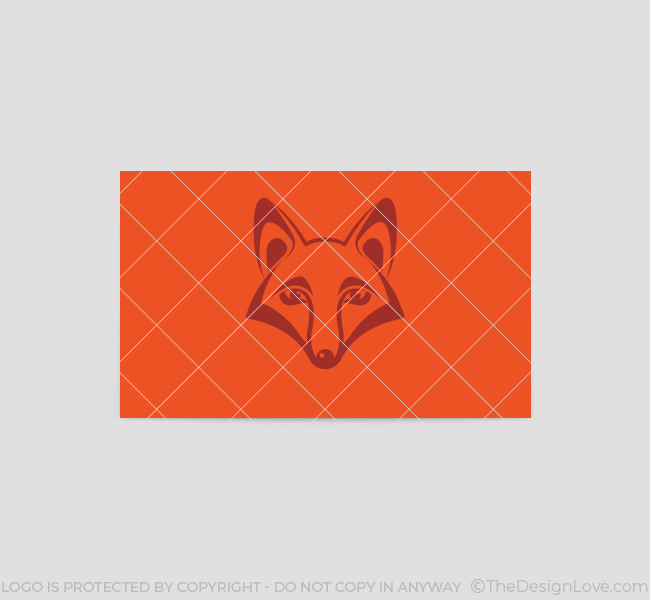 Fox-Face-Business-Card-Template-Back