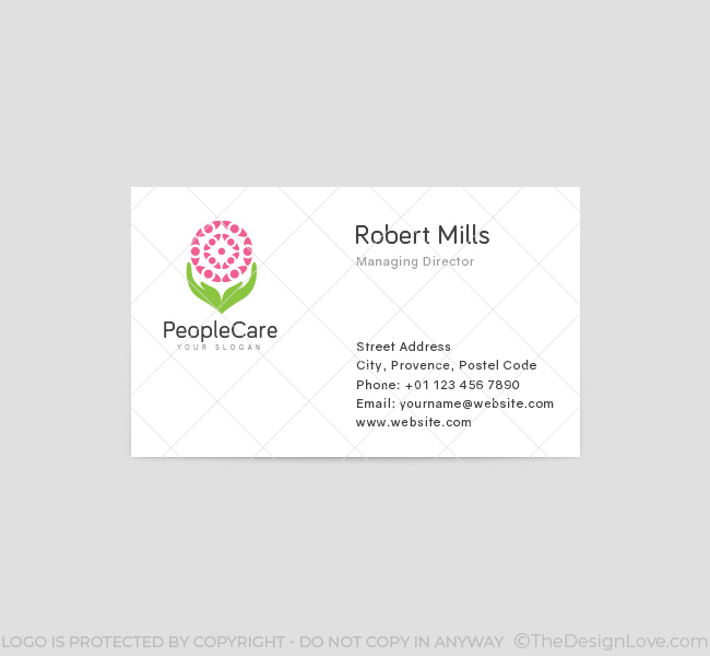 People-Care-Business-Card-Template-Front