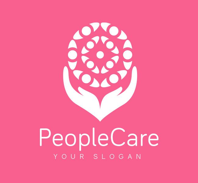 Pre-Designed-Logo-People-Care