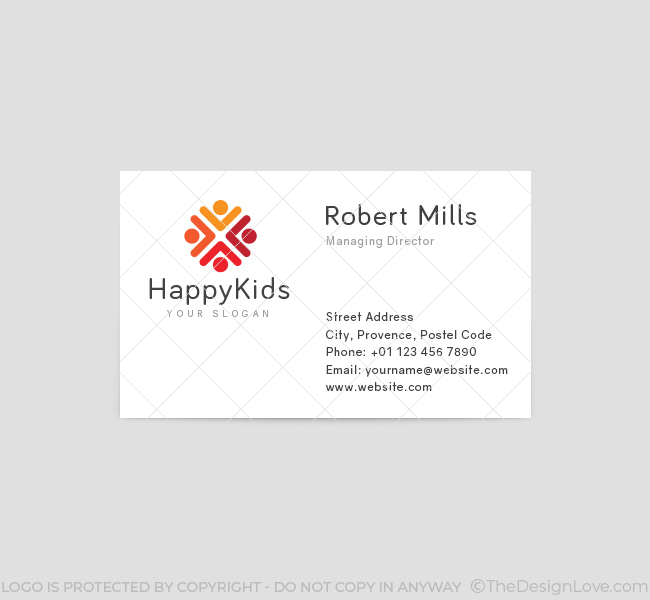 Happy-Kids-Business-Card-Template-Front