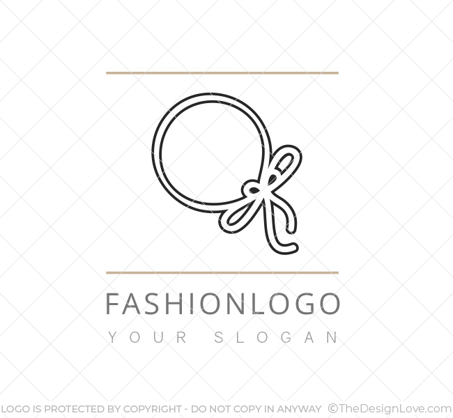 a fashion logo business card template the design love