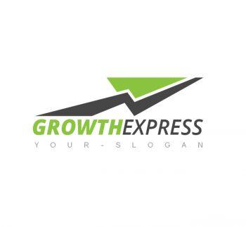 Growth Express Logo & Business Card Template