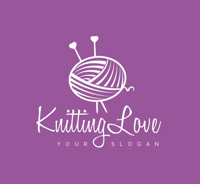 Knitting-Love-Logo-Magical-Mermaid-White