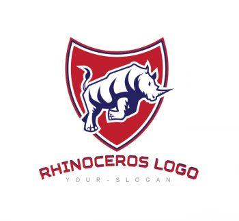 Rhino Shield Logo & Business Card Template
