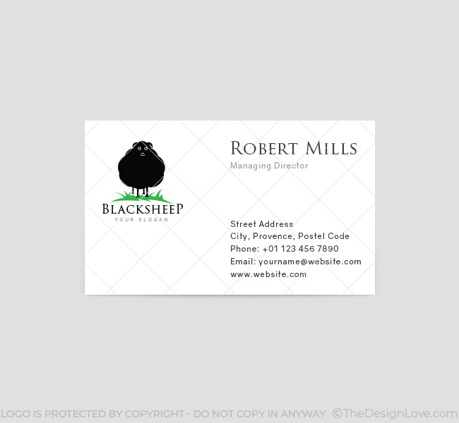 Black-Sheep-Business-Card-Template-Front