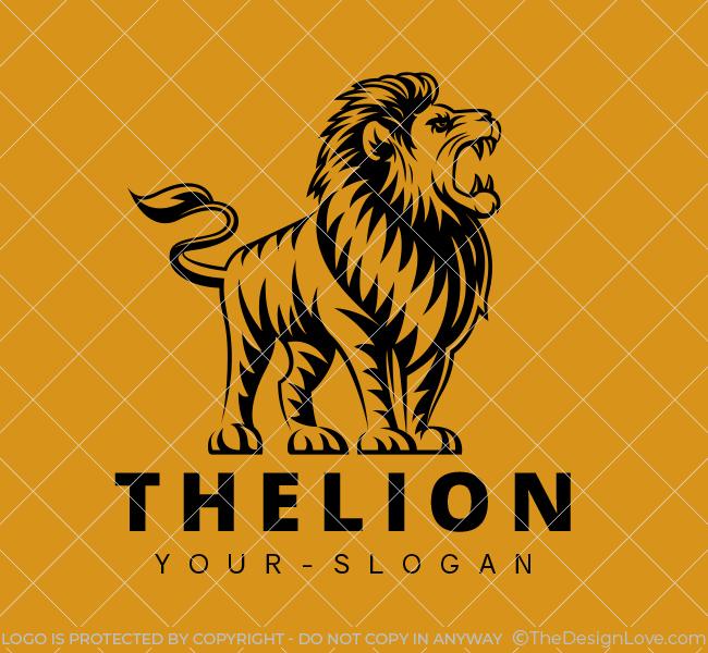 Stock-Logo-The-Lion-Black