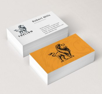 The-Lion-Business-Card-Mockup
