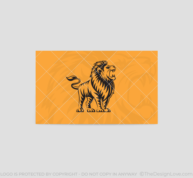 The-Lion-Business-Card-Template-Back