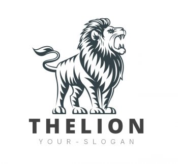 The Lion Logo & Business Card Template