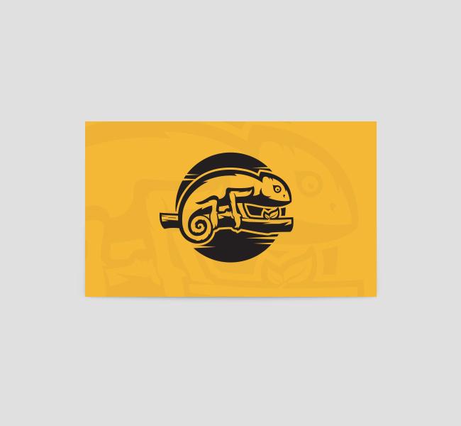 The-Green-Chameleon-Card-Template-Back