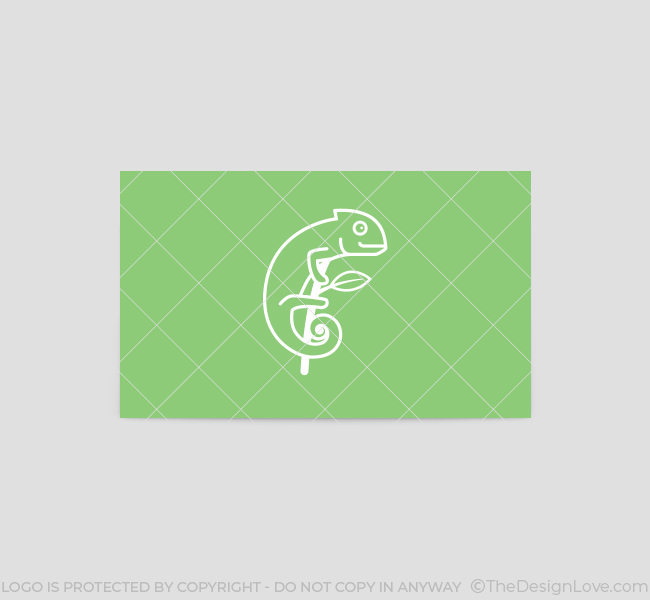 Simple-Chameleon-Business-Card-Template-Back