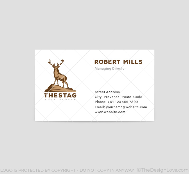 The-Stag-Business-Card-Template-Front