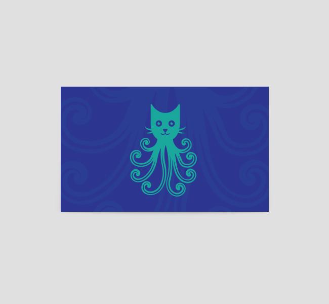 octopus logo  u0026 business card template