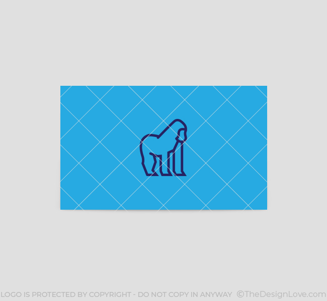 Minimal-Gorilla-Business-Card-Template-Back