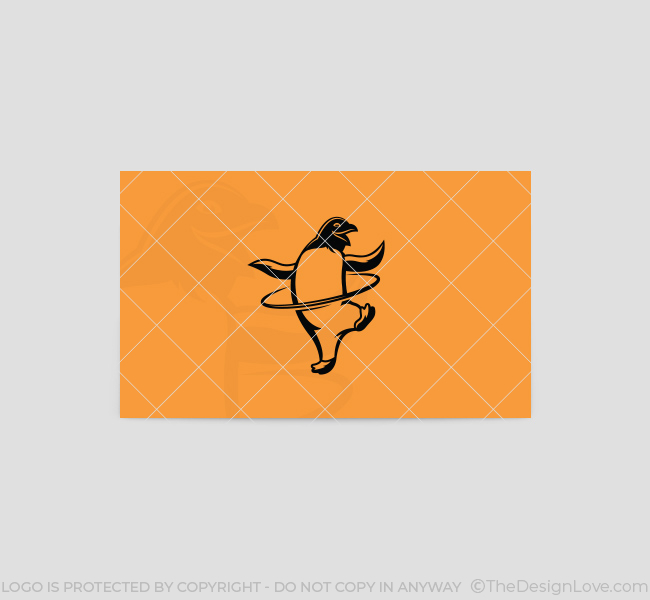 HulaHoop-Penguin-Business-Card-Template-Back