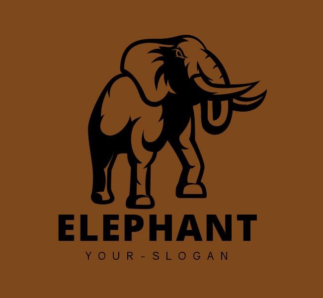 Stock-Logo-Charging-Elephant