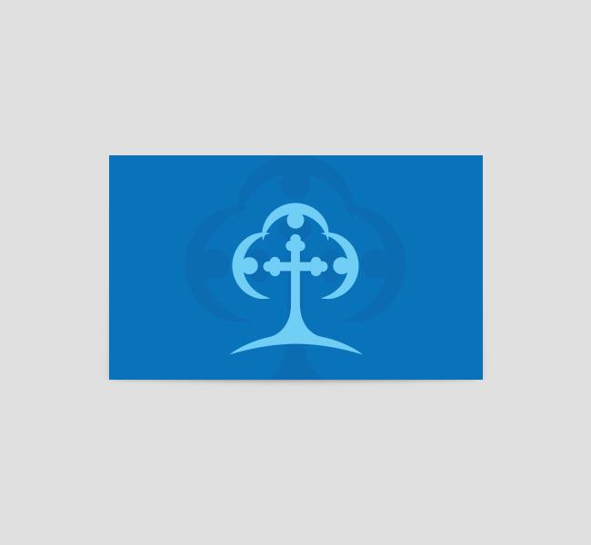 Trinity-Church-Business-Card-Template-Back