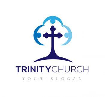 Trinity Church Logo & Business Card Template