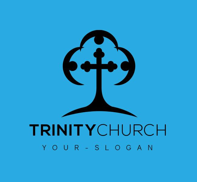 Trinity-Church-Logo-for-Sale-Black