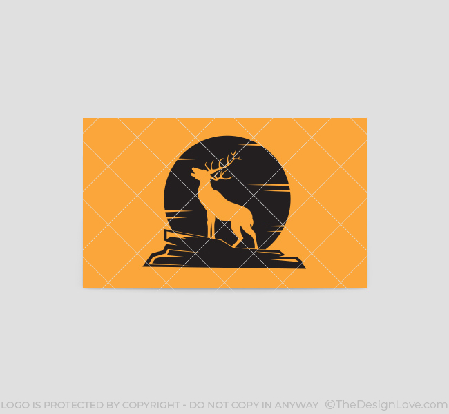 Barking-Stag-Business-Card-Template-Back