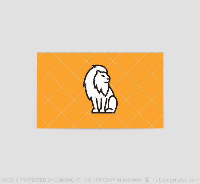 Minimal-Lion-Business-Card-Template-Back