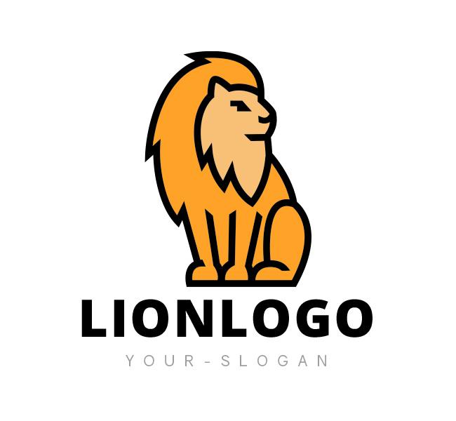 Minimal-Lion-Logo