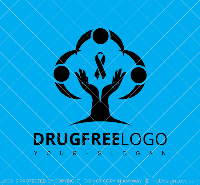 Stock-Logo-Drug-Free