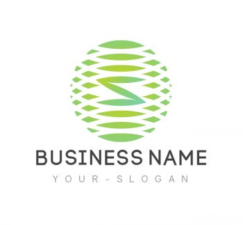 S Letter Logo & Business Card Template