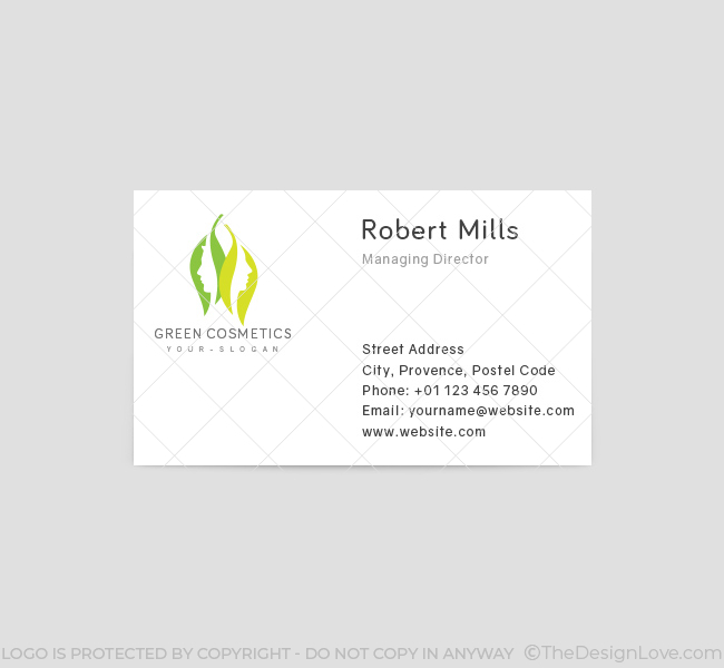 Green-Cosmetics-Business-Card-Template-Front