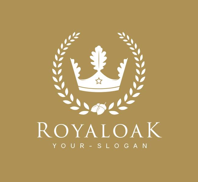 Pre-Designed-Logo-Royal-Oak-White