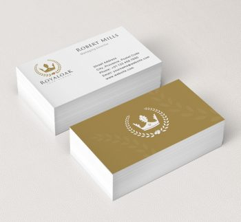 Royal-Oak-Business-Card-Mockup