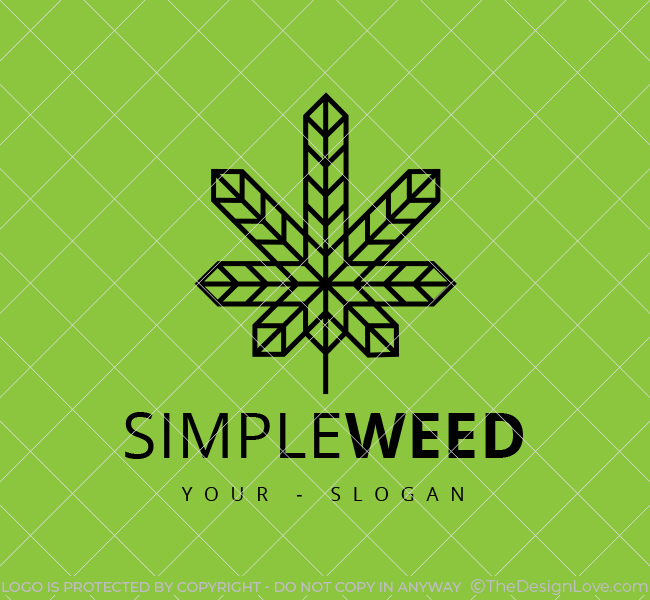 Stock-Logo-Minimal-Cannabis