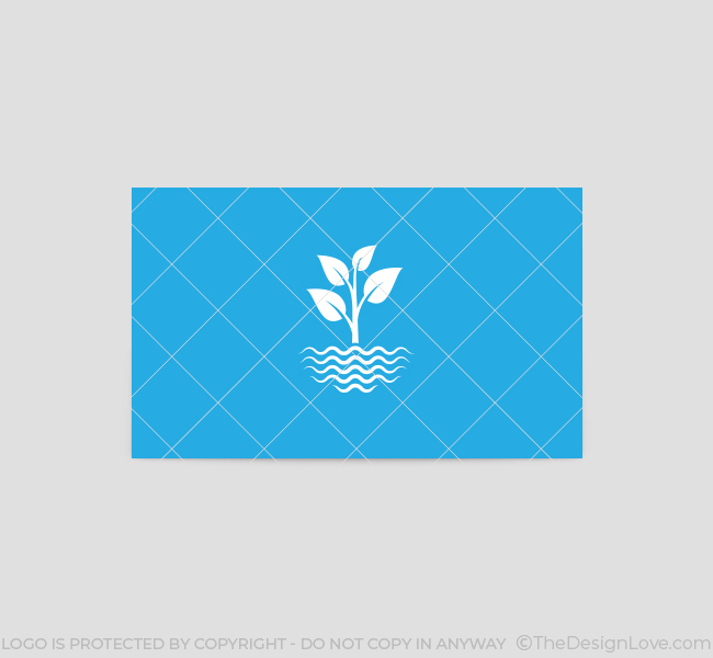 Water-Plants-Business-Card-Template-Back