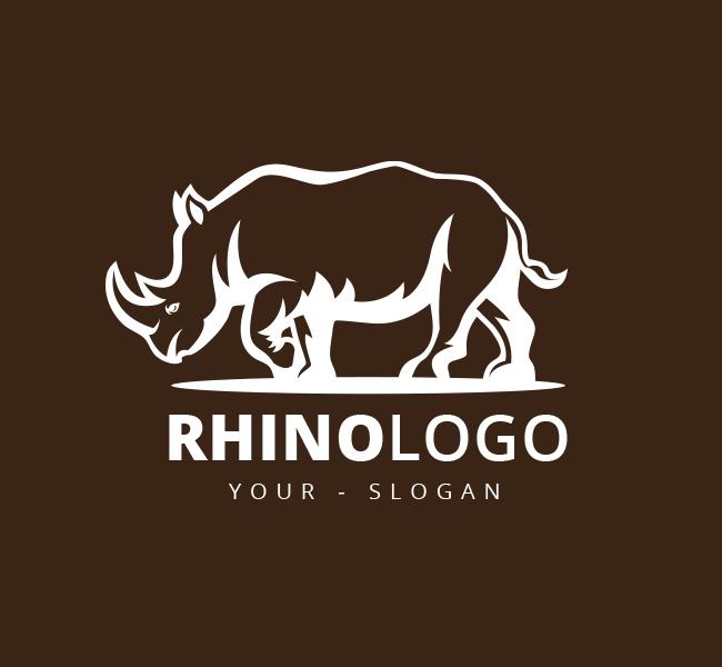 Pre-Designed-Logo-Illustrative-Rhino
