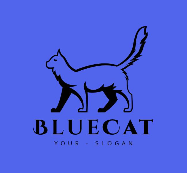 Stock-Logo-Cat-Logo-Black