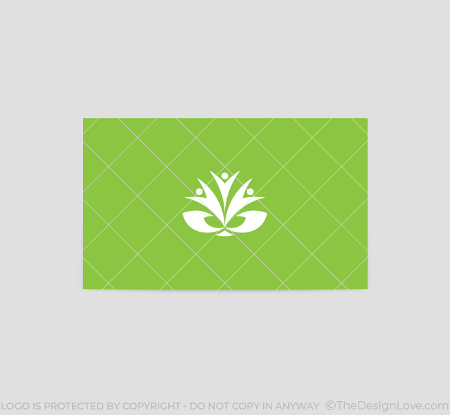 Caring-Hands-Business-Card-Template-Back