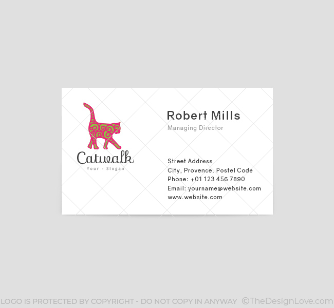 Catwalk-Business-Card-Template-Front