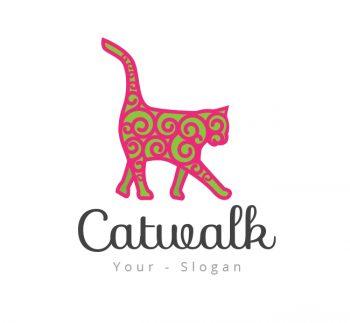 Catwalk Logo & Business Card Template